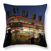 Lemonade Dusk Throw Pillow