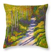 Lena Lake Trail 3 Throw Pillow