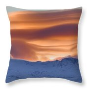 Lenticulares Throw Pillow