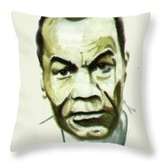 Leon Gontran Damas Throw Pillow