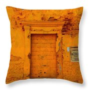 Leona Severa Throw Pillow
