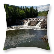 Lepreau Falls Throw Pillow