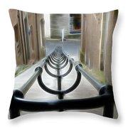Lerwick Lanes Throw Pillow