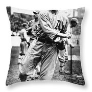 Leslie Bush (1892-1974) Throw Pillow by Granger