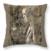 Lester Young Throw Pillow