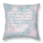 Let It Go... Throw Pillow
