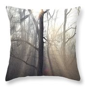Let It Shine Throw Pillow