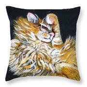 Let Me Paint Your Pet's Picture Throw Pillow