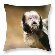 Let Me Think About That Throw Pillow