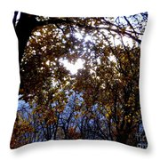 Let The Heart Shine Throw Pillow