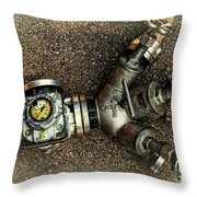 Let The Water Flow Throw Pillow