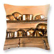 Lets Cook Tonight Throw Pillow