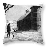 Lewis: R.f.d., 1933 Throw Pillow
