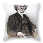 Lewis Tappan (1788-1873) Throw Pillow by Granger