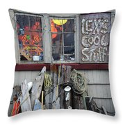 Lexs Cool Stuff Throw Pillow