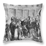Liberated Slaves, 1861 Throw Pillow
