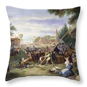 Liberty Pole, 1776 Throw Pillow