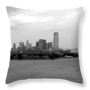 Liberty Science State Park Throw Pillow