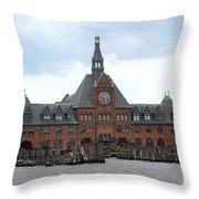 Liberty State Park Throw Pillow