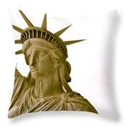 Liberty Up Close Throw Pillow