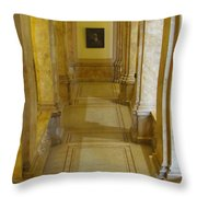 Library 2 Throw Pillow