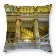 Library 5 Throw Pillow