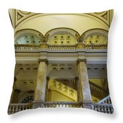 Library 6 Throw Pillow