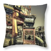 Licenced To Thrill Throw Pillow