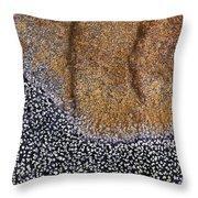 Lichen Pattern Series - 11 Throw Pillow
