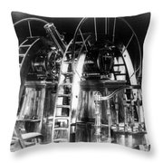 Lick Observatory, Meridian Instrument Throw Pillow