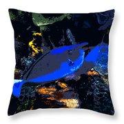 Life Among The Coral Throw Pillow