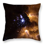 Life Cycle Of Stars Throw Pillow