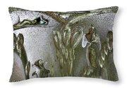 Life Enclosed Throw Pillow