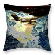 Life In The Tidepools Throw Pillow