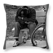 Life Is Hard Throw Pillow