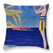 Life: Its A Girl, 1926 Throw Pillow