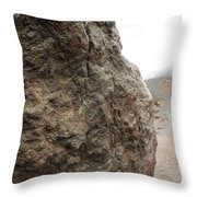 Life On Mars - Etna World. Throw Pillow