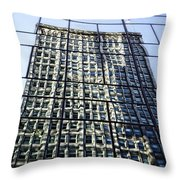 Life On The 32nd Floor Throw Pillow