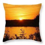 Life On The Susquehanna Throw Pillow