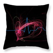 Life Signs Throw Pillow