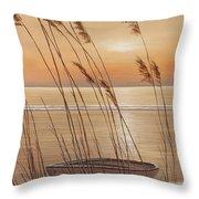 Life's Dream Throw Pillow by Diane Romanello