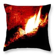 Light And Heat Throw Pillow