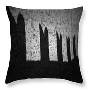 Light And Shadow Throw Pillow by Joana Kruse