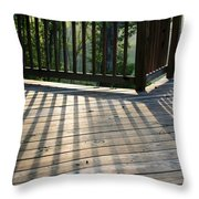 Light And Shadow Throw Pillow