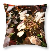 Light As Paper Throw Pillow