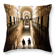 Light At The End Of The Journey Throw Pillow