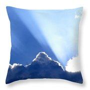 Light Breaks Through Throw Pillow