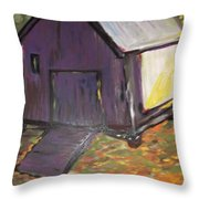 Light Cast Shadows Throw Pillow