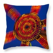 Light Dance Throw Pillow