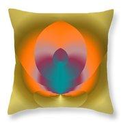 Light Elements Throw Pillow